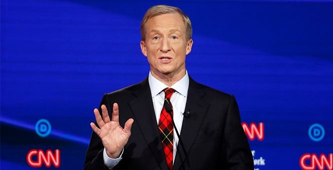 Tom Steyer: I Can Beat Trump Because He's 'Racist' and 'Hates Most Americans'
