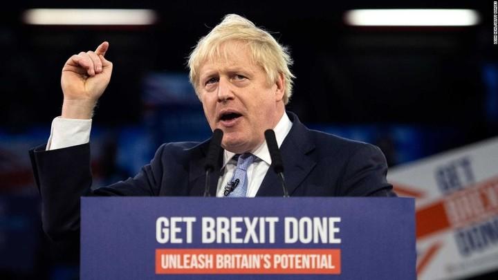 Boris Johnson near a historic win
