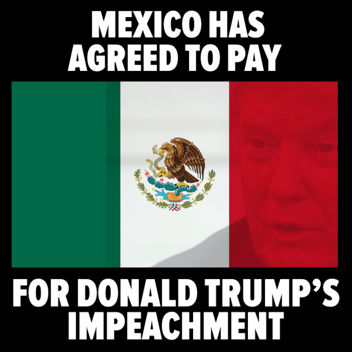 Mexico is paying..but not for the wall