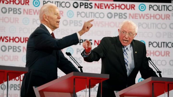 Biden invites Sanders for dessert at the White House