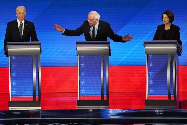 Everyone is despairing but Bernie