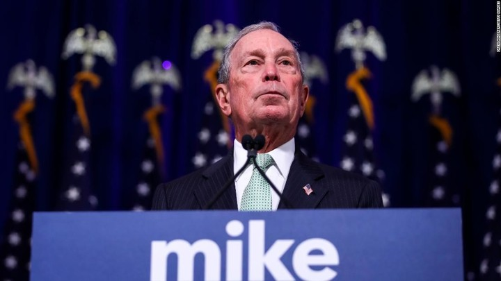 Bloomberg endorsed by DC mayor