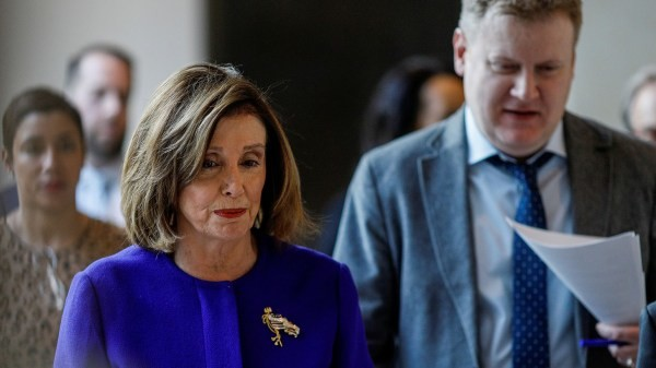 Pelosi made an embarrassing mistake