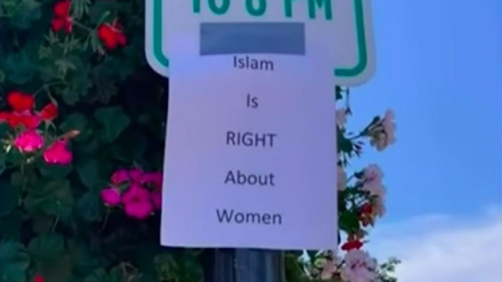 """""""Islam is RIGHT about women"""" posters in Michigan"""