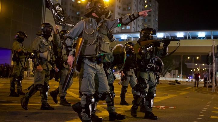 Ukrainian neo-nazis in Hong Kong