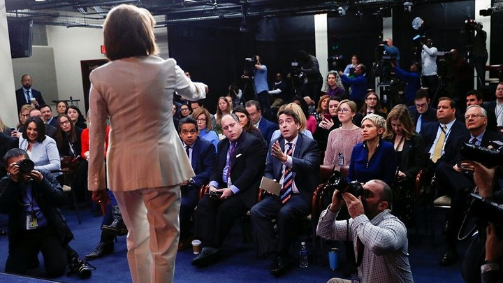 Pelosi warns a reporter: Do not mess with me!