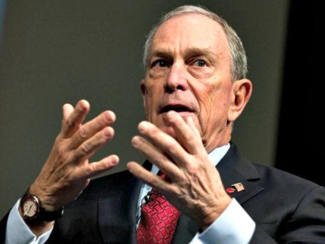 Bloomberg not accepting political donations