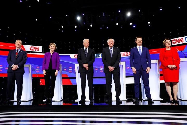 Sanders clashes with Warren at Iowa debate