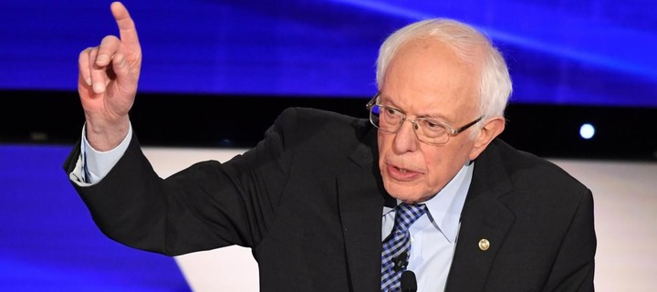 Sanders is the most consistently anti-Trump candidate