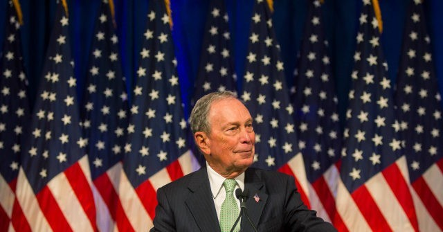 Warren in decline as Bloomberg rises