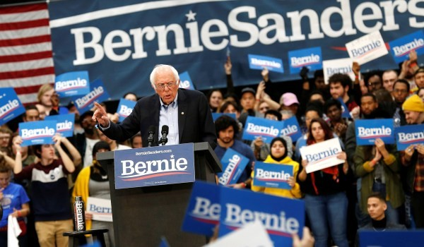 Sanders benefiting from Trump's Iran conflict