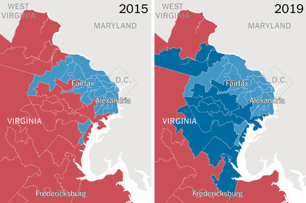 Immigration turned Virginia from red to blue