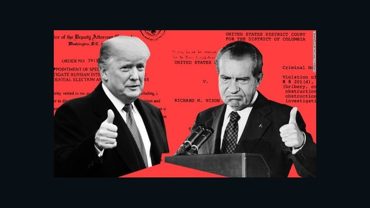 Big difference between the Trump and Nixon impeachment proceedings
