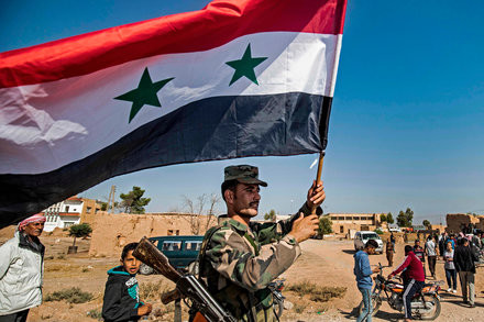Assad reclaiming lost territory