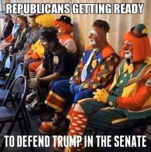 Clowns attack
