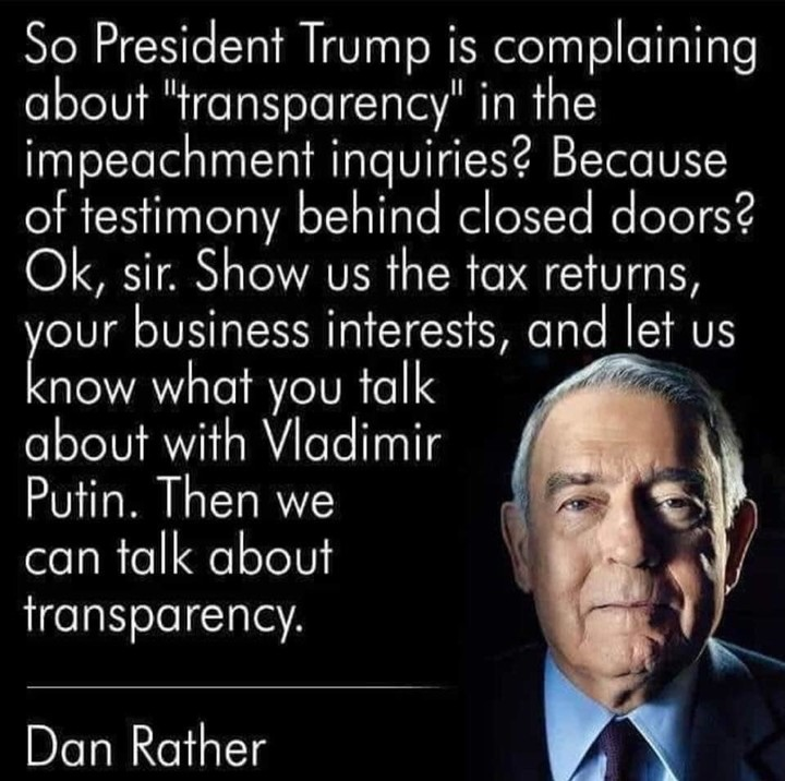 Transparency, anyone?