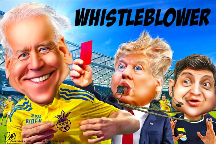 Whistleblower Trump