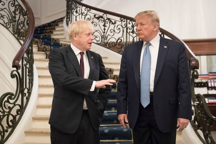 Is Trump interfering in the UK elections?