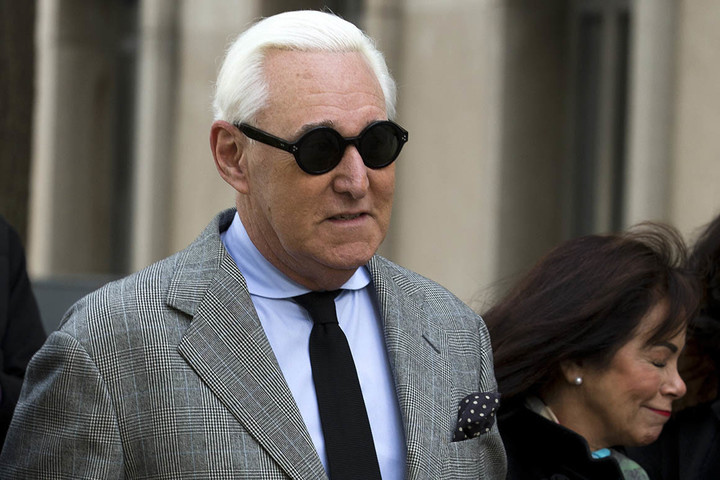 Roger Stone found guilty