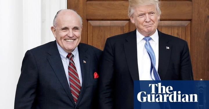 Giuliani: Trump will stay loyal to me