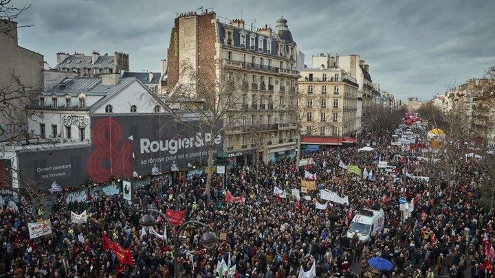 People's revolution in France