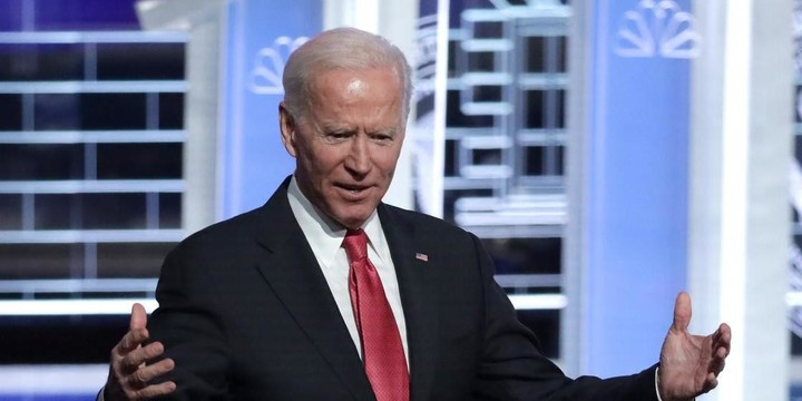 Biden is still the frontrunner