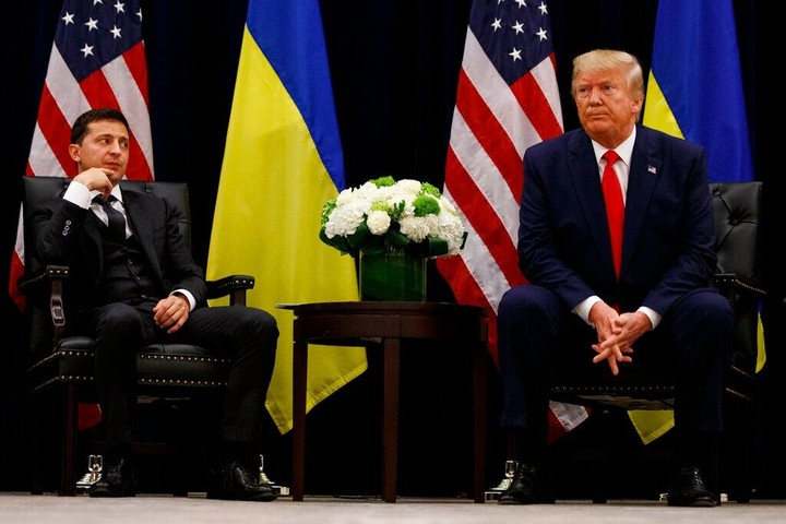Trump-Ukraine call described as frightening