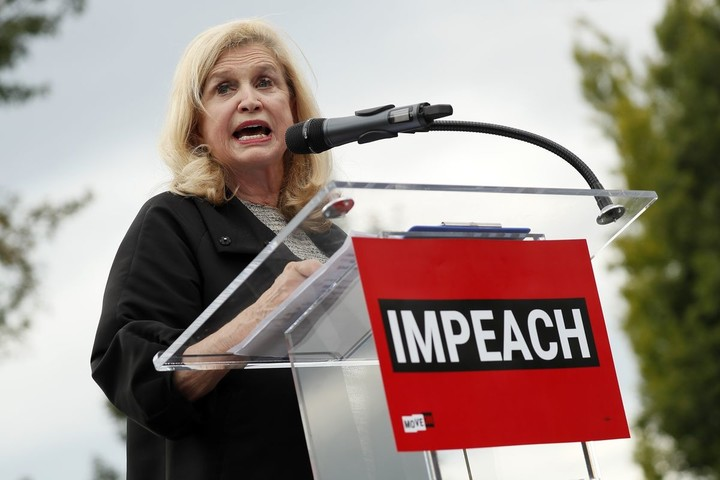 New York Rep. Maloney now takes over key impeachment post