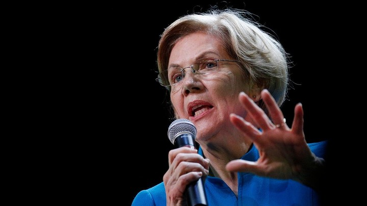 "Warren accused of ""siding with terrorists"""