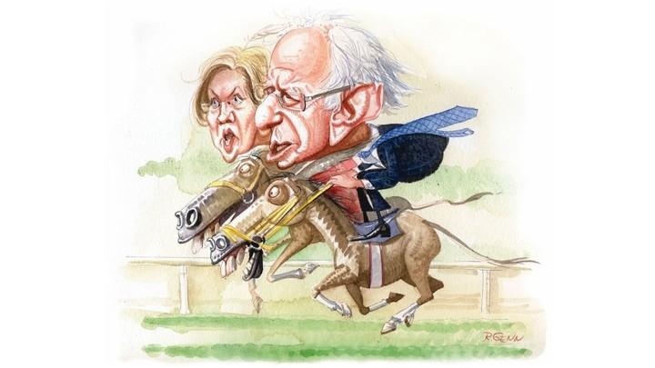 Sanders vs Warren-comparison