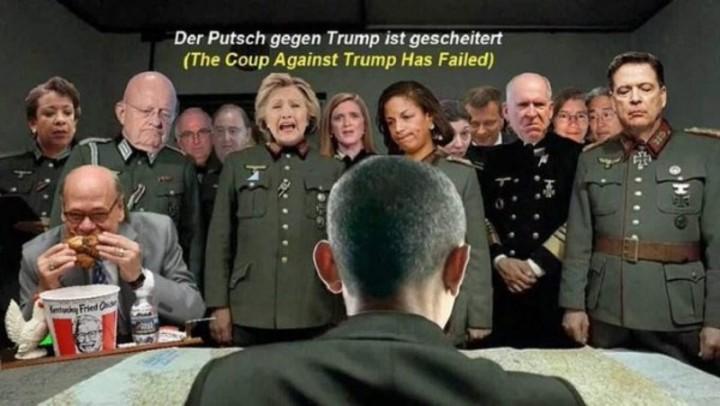 The coup has failed