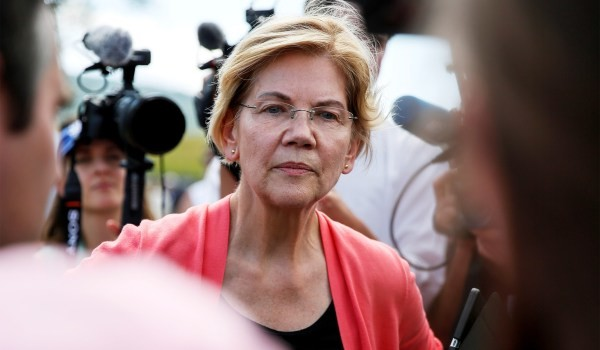 To what extent can Warren count on the black vote?