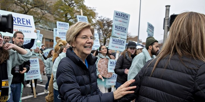 Warren wants to tax the wealthy and companies