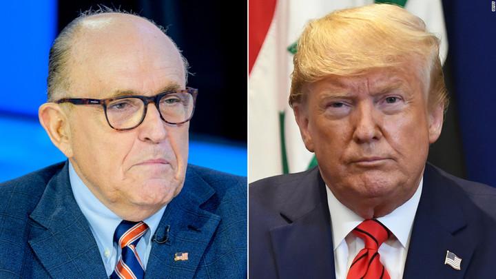 Trump: I never directed Giuliani on Ukraine