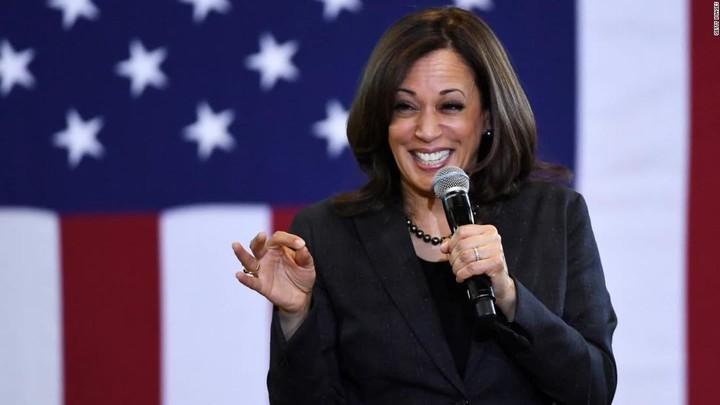 Kamala Harris might be endorsing Biden for president?