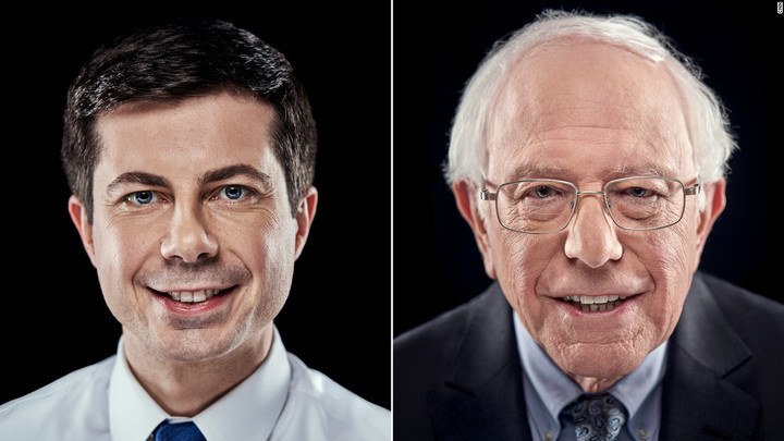 Buttigieg and Sanders still in tight race
