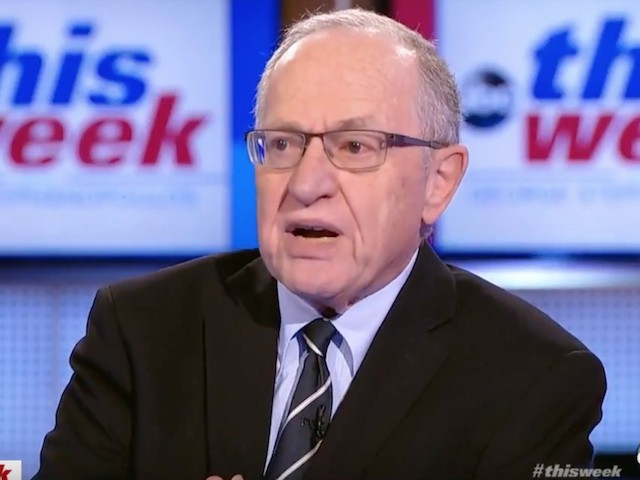Dershowitz: The Dems are making up crimes