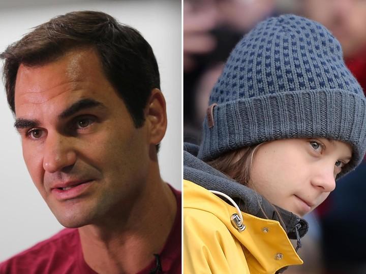 Roger Federer responds to Greta Thunberg
