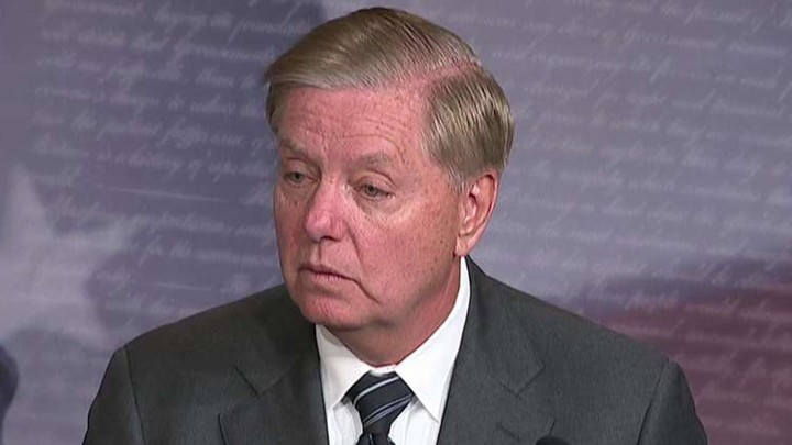Graham relentless in defending Trump