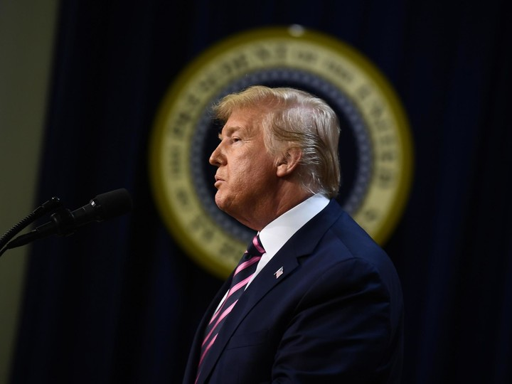 """Trump is """"shellshocked"""" after impeachment"""