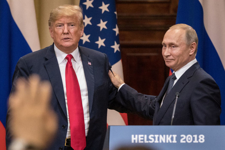 Trump thanks Putin for his support
