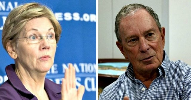 Warren now taking digs at Bloomberg
