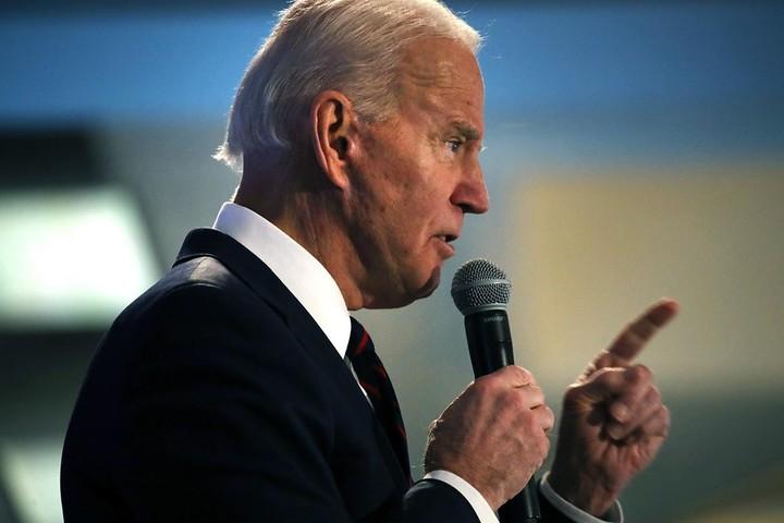 Biden accuses Sanders of doctoring video to attack him