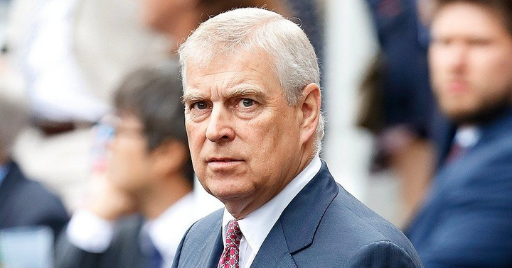 Prince Andrew's public existence completely wiped out