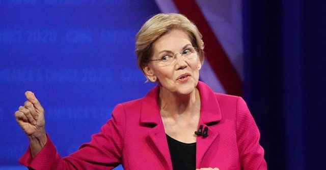Who was Warren questioner at LGBT town hall?