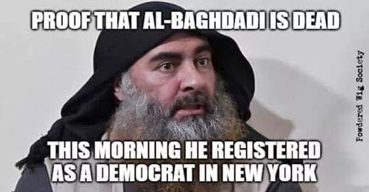 And he will vote for Hillary