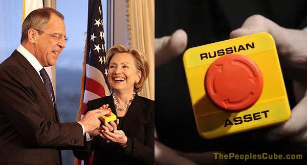 Russian asset button