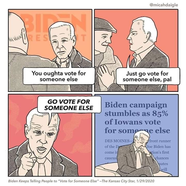 Vote for someone else