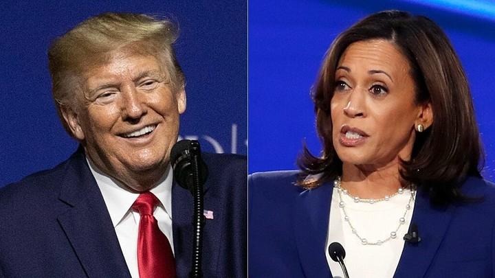 Trump taunts Kamala Harris