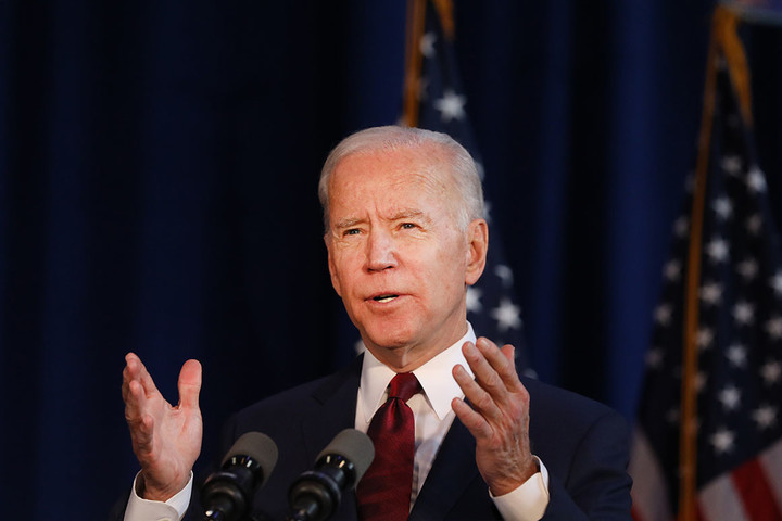Democrats rallying behind Biden